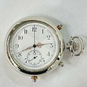 Quarter Repeater Swiss Le Phare Pocket Watch 1890s 18 Jewel Serviced Warranty
