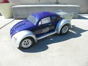 Custom Painted Rc Body Pro-line Vw Drag Bug - Slash And Ae Dr10 Drags New