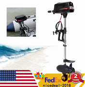 Heavy Duty Electric Outboard Brushless Motor 2200w Fishing Boat Engine 60v