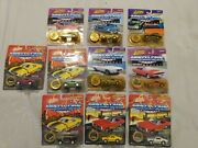 Johnny Lightning Die Cast Cars Muscle Cars Usa Lot Of 10 All Ford Mustangs 164