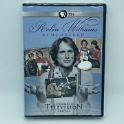 Robin Williams Remembered Dvd Oop Pbs 2014 Actor Comedian Biography Sealed