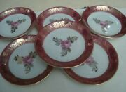 Vintage Beautiful Set Saucer Porcelain Coffee Kitchen Cup Home Cups Rose Germany
