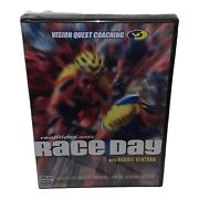 Realrides Race Day W/ Robbie Ventura Cycling Training Dvd Vision Quest Coaching