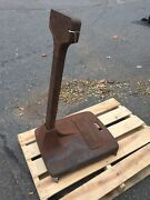 Mercury Outboard Stand Cast-iron Two Piece Dealer Work Station