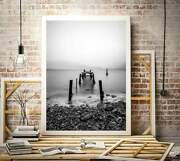 Scottish Prints For Sale A Decayed Jetty At Loch Linnhe Scotlands Highlands Ar