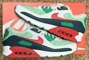 Nike Air Max 90 Nordic Christmas Sweater Dc1607-100 Menand039s Size 14