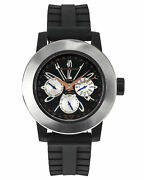 Delacour Fusion Calendar Gmt Automatic Menand039s Watch Wati0139-004-rbb
