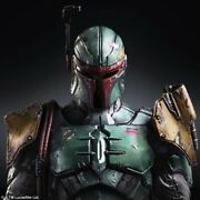 Play Arts Star Wars Boba Fett Pvc Action Figure Collectible Model Toy