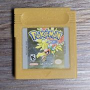 Pokemon Gold Version Nintendo Gameboy Classic Authentic Tested
