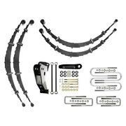 For Ford F-250 Super Duty 99-04 Suspension Lift Kit Icon 6 X 6 Leaf Spring
