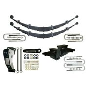 For Ford F-250 Super Duty 00-04 Suspension Lift Kit Icon 6 X 4 Leaf Spring