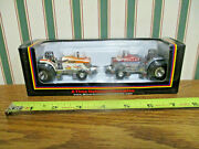Agco Silver Bullet Pulling Tractor Set By Speccast 1/64th Scale