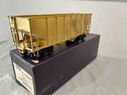 Us Hobbies O Scale Brass 2r Ribbed-side Twin Hopper Train Unpainted Ex/ob