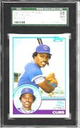 1983 Topps Traded 39t Mel Hall Rookie Rc Cubs Indians Sgc 98 Gem Mt = Psa 10