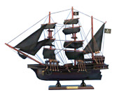 Wooden Calico Jack's The William Model Pirate Ship 20
