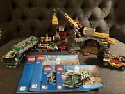 Lego City 4204 The Mine - 2012 - 100 Complete W Instructions Rare And Retired