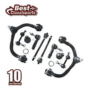 Front Upper Control Arms Suspension Kit X10pcs For 2003-2004 Lincoln Navigator