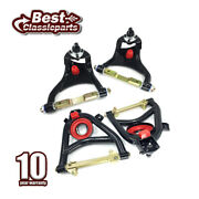 4pc Front Upper And Lower Control Arms Tri 5 Tubular For 55-57 Chevrolet Bel Air