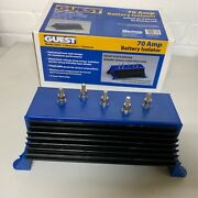 Marinco 2503 Guest 70 Amp Baterry Isolator Blue