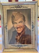 Antique Silver And Black Art Deco Picture Frame 6 By 8 Photo Of Preston Foster