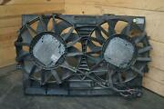 Electric Radiator Cooling Dual Fan Motor Assembly 4h0121207c Audi A8 2013-18 S8