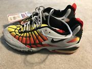Rare Nike Air Max 1998 Dead Stock Mens 9 Tiger Orange Gray Sneakers Shoes W Tag