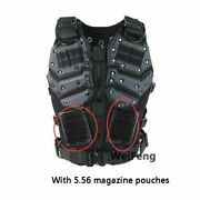 Tactical Vest Plate Molle Carrier Paintball Military Airsoft With Magazine Pouch