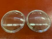 1935 1935 Chevy Master 1934 Chevy Truck 1/2 Ton Headlight Lens Pair Nors