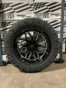 20x10 American Force Rush 33 Nitto Ridge At Tires 6x135 Ford F150 Expedition