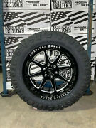 20x10 American Force Trail 33 Nitto Ridge At Tires 6x135 Ford F150 Expedition
