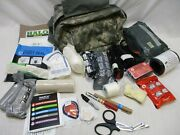 Military First Aid Trauma Kit Cls Bag Combat Medical Tourniquets Bandages Supply