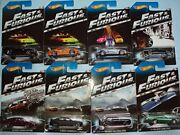 2014 Hot Wheels 2 Fast And Furious Complete Set Of 8 - '70 Dodge Charger, Toyot