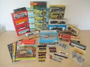Vintage Atlas Bachmann Tyco Lot Ho And N Scale Engines Railcars Track And Misc.