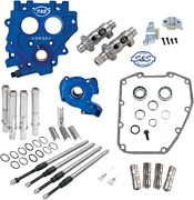 Sands Cam Chest Kit, Tc3 Oil Pump/plate, Chain Drive, 585ce Harley Big Twin 99-06