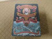 Vintage Jack Daniels Tennessee Whiskey 1904 Lithographed Tin Box