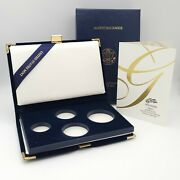 2005-w American Eagle Gold Bullion Coins Proof Set Case Box And Coa No Coins