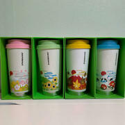 Starbucks Japan Tumbler You Are Here Collection Mt. Fuji Stainless 16oz Set Of 4