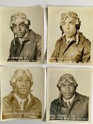 Tuskegee Airmen Photos 4' Stamped' Official U.s.a.a.f. Airmen Training Command