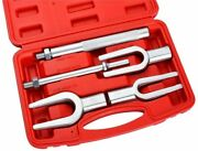 5pcs Tie Ball Joint Rod Pitman Arm Tool Separator Removal Tool And Pickle Fork Set