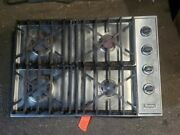 Viking 30 Stainless Steel Gas Cooktop Stove Vgsu1034bss Fair Condition