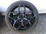 Bmw X5 X6 Staggered Wheels With 21 Dunlop Sp Sport Maxx Tires W/ Tpms