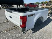 2018 Ford F250sd White 6.9 Truck Bed/box Tailgate Tail Lights Bed Liner 4x4 Oem
