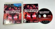 Dance Dance Revolution Sony Playstation 3, 2010 Complete Very Good Tested