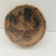 Brownand039s Pottery Arden Nc Vintage 05 Drip Glazed Bowl