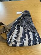 Ameribag Classic Healthy Back Bag Tote Distressed Nylon Octopus New With Tags