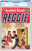 Archieand039s Rival Reggie 1 Cgc 6.5 Cgc 1950 From Pep 22 Jackpot 4 Cm