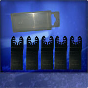 5 Saw Blades 1 1/4in Japan Accessories Attachments For Dremel Tm8300-q With Box