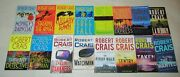 Robert Crais Lot Of 16 Pbs Elivs Cole And Joe Pike Series Near Complete