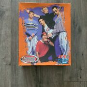 """Backstreet Boys Poster Puzzle 300 Pieces New Flaws 1999 Vintage Mb 24"""" X 36"""""""