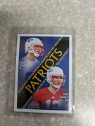 2000 Fleer Tradition Rookies To Watch Tom Brady Rookie Card 352 Ungraded
